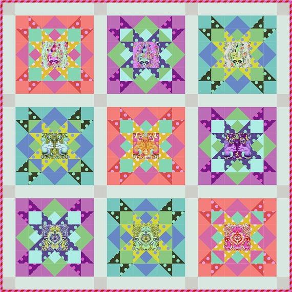 Mystic All Stars Quilt Kit