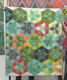Hexy Stars Quilt Kit featuring Chipper by Tula Pink