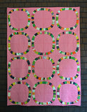 SALE***Single Girl Quilt Kit in Pink featuring Sleeping Porch by Heather Ross
