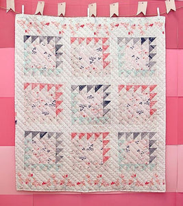 Book Ends Quilt Kit featuring Paperie by Amy Sinibaldi