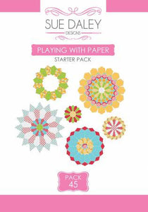 Playing With Paper Starter Pack #45 by Sue Daley