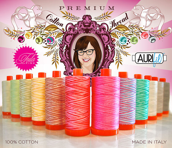 Tula Pink Premium Collection Large Aurifil Thread Set