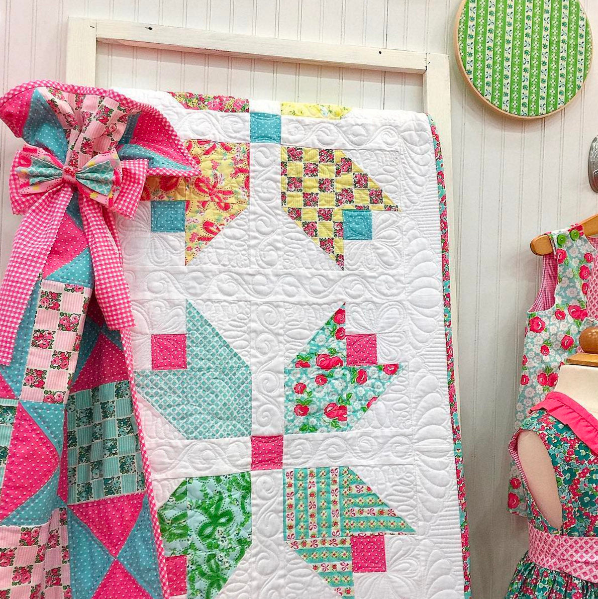Darling Quilt Kit Strawberry Quiltcake