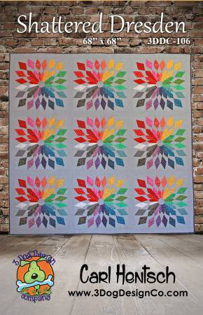 Shattered Dresden Quilt Kit