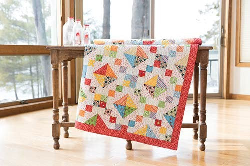 My ABC Book Nostalgia Quilt Kit by Darlene Zimmerman