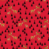 Dwight The Deer Quilt Kit featuring Holiday Homies by Tula Pink
