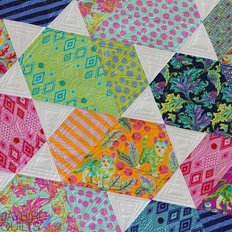 Light Comet Quilt Kit