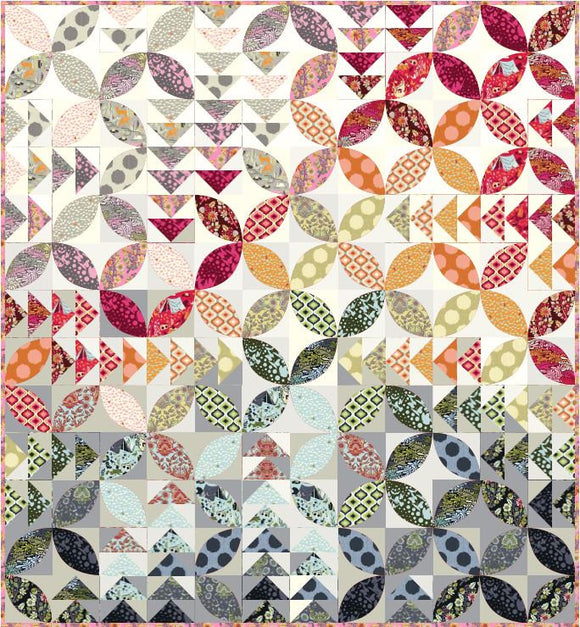 LIMITED Bird Seed Quilt Kit featuring Moon Shine by Tula Pink