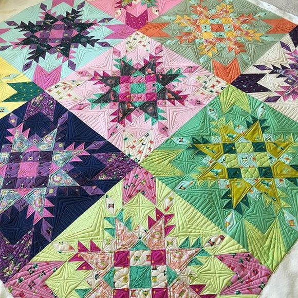 Feathered Stars Quilt Kit
