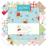 Row Along Quilt Kit featuring Sew Cherry 2 by Lori Holt Quilt Pattern
