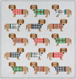 Dogs in Sweaters Quilt Kit