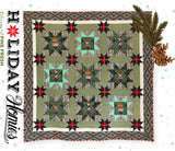 Holidays with Our Homies Pine Fresh Quilt Kit by Tula Pink