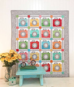 Picture Day Camera Quilt Kit