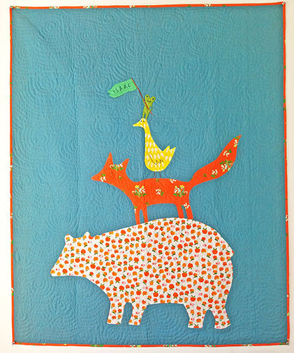 Jon's Animal Quartet Quilt Kit