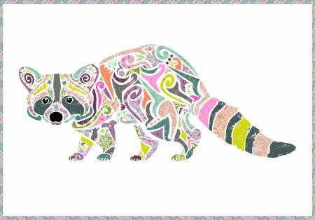 Reginald Raccoon Quilt Kit