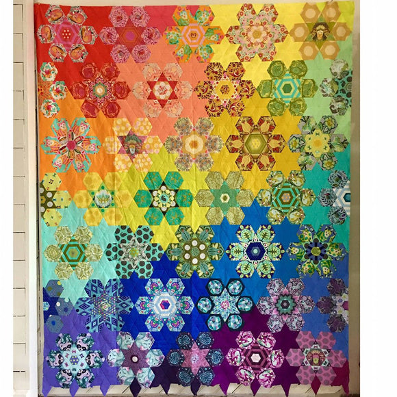Tula's Bloomers Quilt Kit by Tula Pink