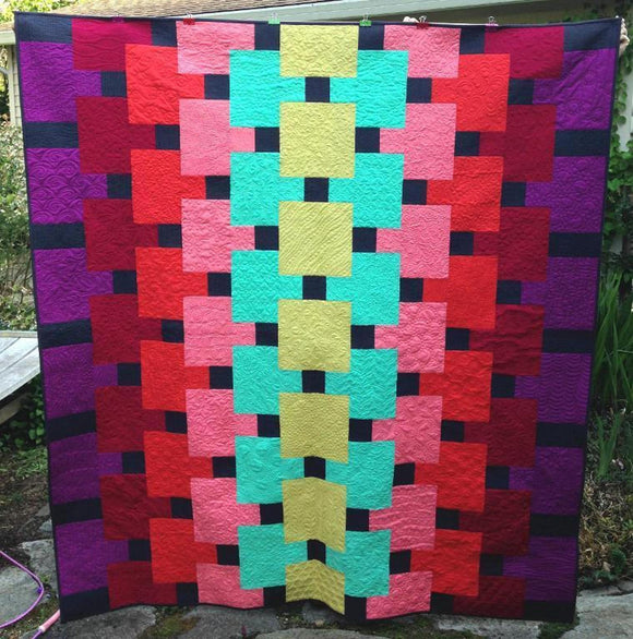 Magic Carpet Quilt Kit by Christina Cameli