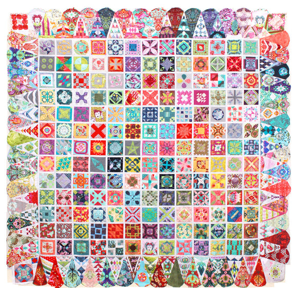 Dear Jane Quilt Kit featuring Tula Pink