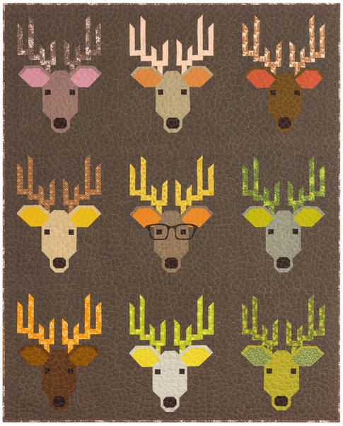Dwight The Deer Terrarium Quilt Kit