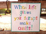 When Life Gives You Scraps Quilt Kit featuring Spirit Animal by Tula Pink