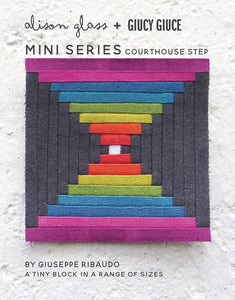 Mini Series Courthouse Steps Pattern by Alison Glass