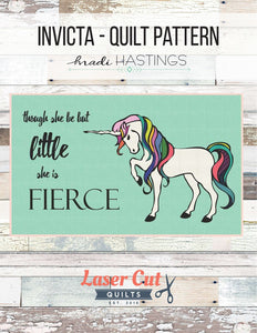 SALE Invicta Quilt Kit featuring Cotton and Steel