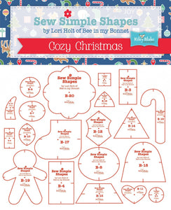 Cozy Christmas Sew Simple Shapes Template Set by Lori Holt