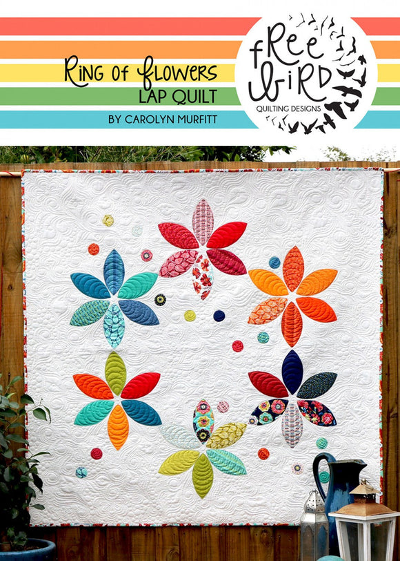 Ring of Flowers Quilt Pattern Set