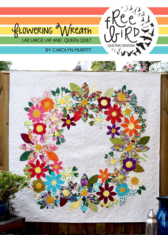 Flowering Wreath Quilt Pattern Set