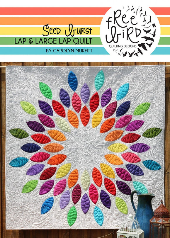 Seed Burst Quilt Pattern Set