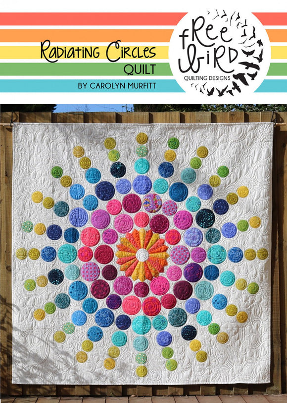 Radiating Circles Quilt Pattern Set