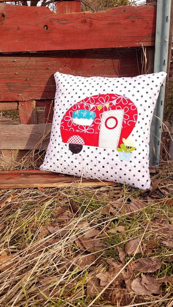 Poppies Van Pillow Kit