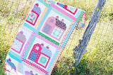 PRE-ORDER Quilty Barn Quilt Kit featuring Farm Girl Vintage by Lori Holt