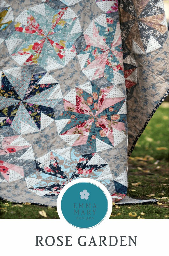 Rose Garden Quilt Pattern Set