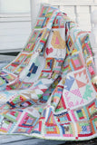 PRE-ORDER Scrappy Haystack Quilt Kit featuring Farm Girl Vintage by Lori Holt