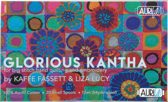 Aurifil Glorious Kantha Collection by Kaffe Fassett & Liza Lucy