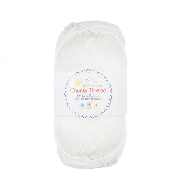 Lori Holt Chunky Thread Cloud White