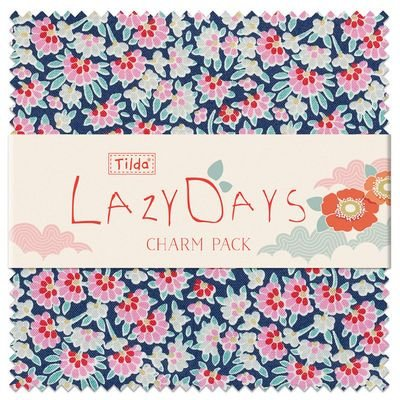 PRE-ORDER Lazy Days Charm Pack by Tilda