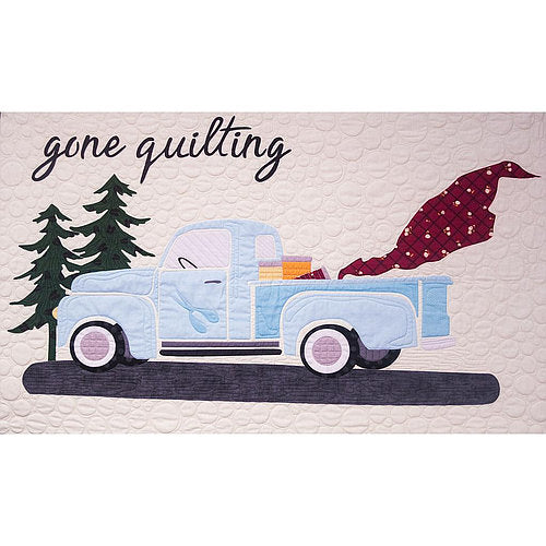 Gone Quilting Vintage Blue Quilt Kit