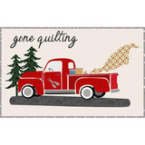 Gone Quilting Firehouse Red Quilt Kit