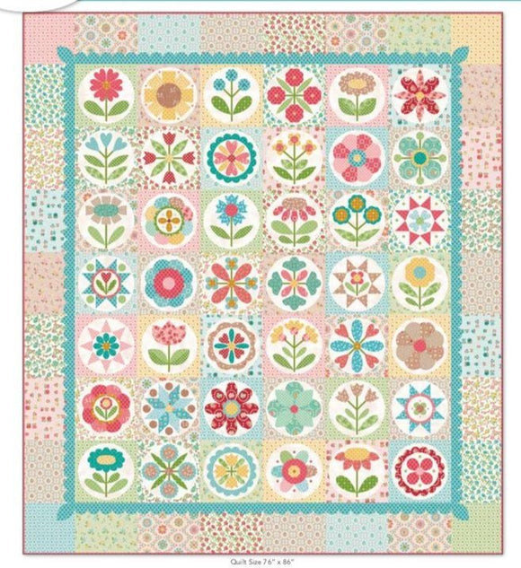 PRE-ORDER Granny's Garden Quilt Kit by Lori Holt