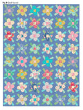 PRE-ORDER Scrapflower Blue Quilt Kit Featuring Apple Butter by Tilda