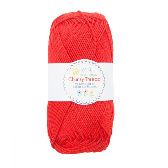 Lori Holt Chunky Thread Red