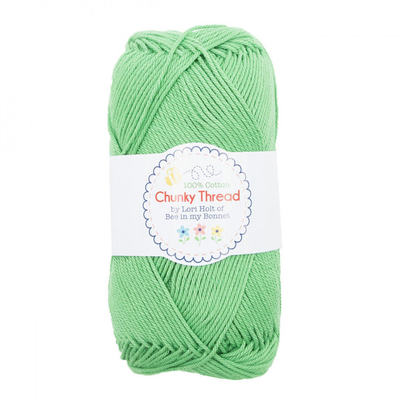Lori Holt Chunky Thread Green
