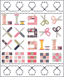 PRE-ORDER Celebrate Sewing Quilt Kit