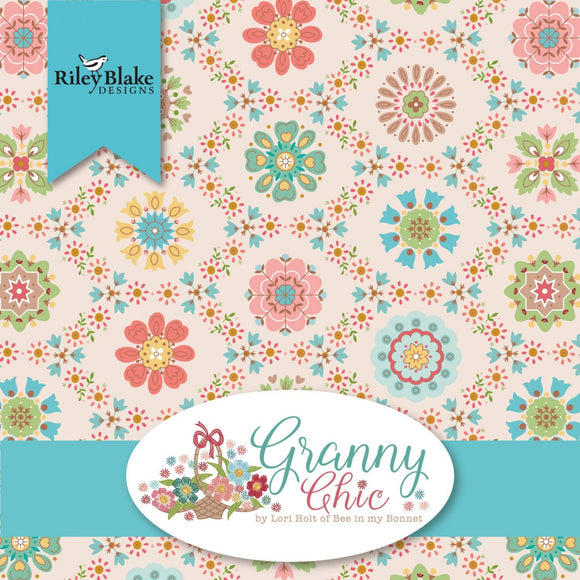 PRE-ORDER Granny Chic Half Yard Bundle by Lori Holt