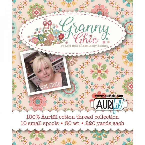 PRE-ORDER Granny Chic Aurifil Thread Box Set  by Lori Holt