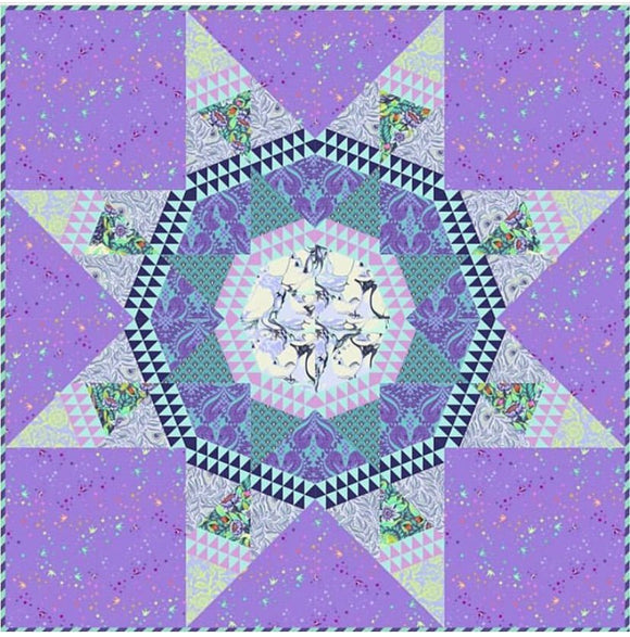 PRE-ORDER Radiant Daydream Quilt Kit featuring Pinkerville by Tula Pink