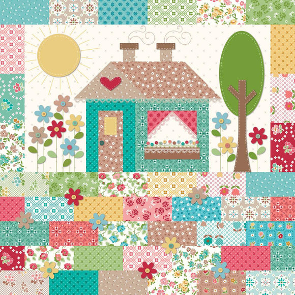 PRE-ORDER Granny's Tea Pots Quilt Kit by Lori Holt