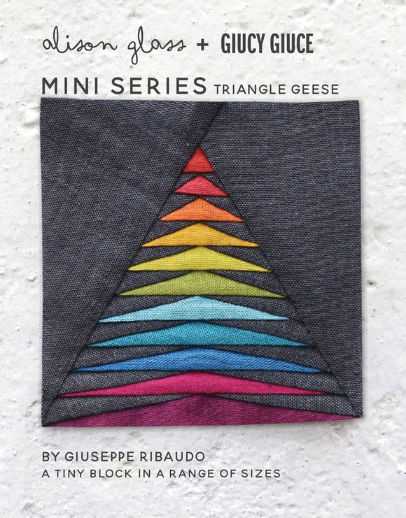 NEW Mini Series Triangle Geese Pattern by Alison Glass